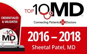 TOP 10 MD, Credentialed and Validated for 2016 - 2018 - Dr. Sheetal Patel, MD, FACS: Fellowship-Trained Bariatric Surgeon Bariatric Surgery Robotic Surgery Foregut Surgery Minimally Invasive Surgery Serving Broader Dallas Fort Worth Area